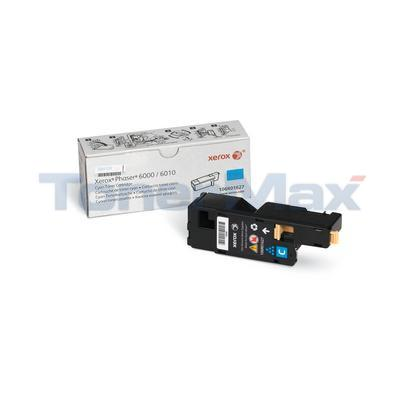 XEROX PHASER 6000 TONER CARTRIDGE CYAN